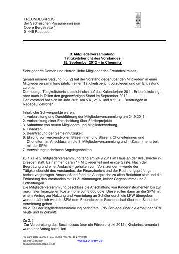 Tätigkeitsbericht für das Jahr 2011-2012. - Sächsische ...