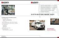 DISTRIBUTION MADE EASY - Azerty.com