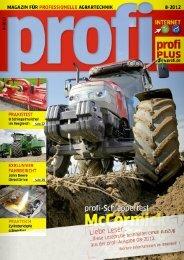 magazin für professionelle agrartechnik - ÖLDRUCKMASTER