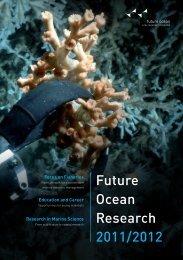 Future Ocean Research 2011/2012 - The Future Ocean
