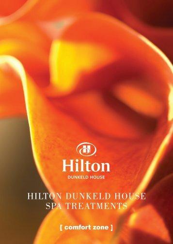 [comfort zone] spa - Hilton