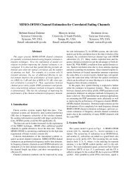 MIMO-OFDM Channel Estimation for Correlated Fading Channels