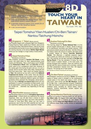 Taichung/Hsin Chu/Taipei