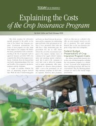 Explaining the Costs of the Crop Insurance Program - National Crop ...