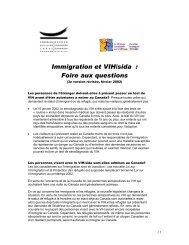 Immigration et VIH/sida