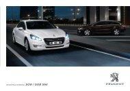 DODATNA OPREMA 508 / 508 SW - Peugeot