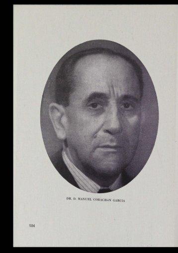 DR. D. MANUEL CORACHAN GARCIA