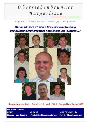 Obersiebenbrunner Bürgerliste