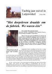 Lutjewinkel Libelle - Zuivelhistorie Nederland