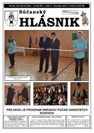 Súčanský hlásnik 2012 číslo 4.pdf - Horná Súča