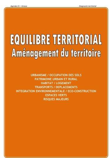 Equilibre territorial - Grasse