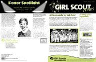 GS News Fall 2007.indd - Girl Scouts Today