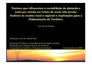 Factores que Influenciam a Mortalidade de Abetarda e Sisão por ...
