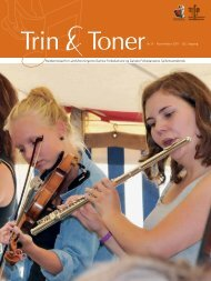 Trin & Toner 08-2011 - Spillemandskredsen.dk