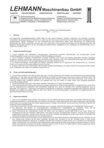 AGB-LMB - Lehmann Maschinenbau GmbH