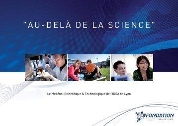 brochure de la Fondation INSA de Lyon
