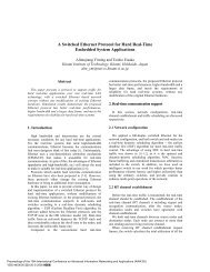A Switched Ethernet Protocol for Hard Real-Time Embedded System ...
