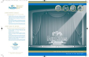 2007 Annual Report - Fox Cities Convention & Visitors Bureau