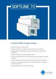 Le système VEKA au design classique