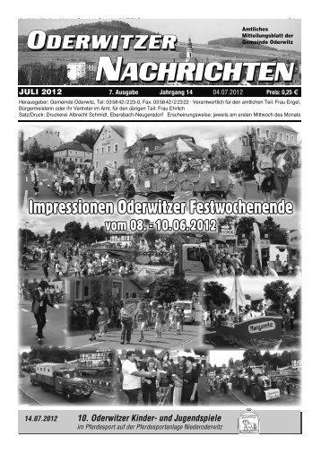 10. Oderwitzer Kinder- und Jugendspiele - Gemeinde Oderwitz