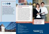 FInFACTs - am Fachbereich Wirtschaftswissenschaften - Friedrich ...