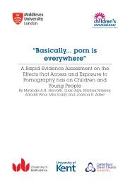 """""""Basically… Porn is everywhere"""" - Middlesex University"""