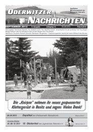 Tanz im Feuerwehrhaus - Gemeinde Oderwitz