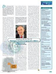 Schnelle Netze, Teil 22 Thüringen: Grundversorgung mit 2 Mbit/s