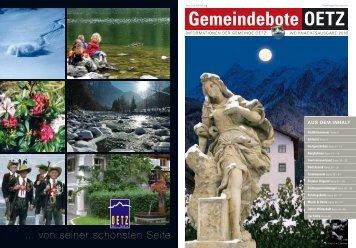 5,50 MB - Gemeinde Oetz - Land Tirol