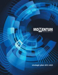 Momentum, a strategic plan - Greater Greater Washington