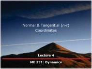 Normal & Tangential (n-t) Coordinates