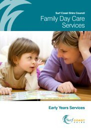 Family Day Care Services - Surf Coast Shire