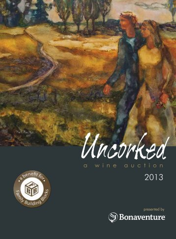 2013 Catalog - Uncorked Wine Auction