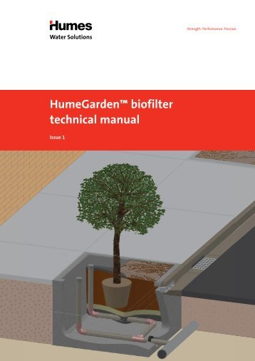 HumeGarden™ biofilter technical manual - Humes