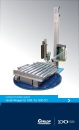 Compact turnkey system Stretch Wrapper GL 1300 / GL 1300 CTS