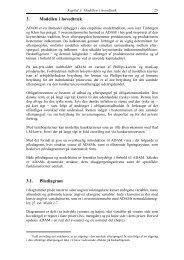 3. Modellen i hovedtræk 3.1. Pilediagram