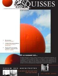eMAI-JUIN-JUILLET 2002 - Ordre des architectes du Québec (OAQ)