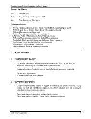 Rapport Jury étape 1 14-15 sept.10 - Ordre des architectes du ...