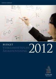 Budget 2012 - Lerums Kommun