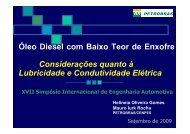 Quanto à condutividade elétrica - AEA – Associação Brasileira de ...