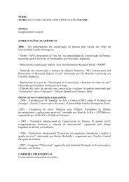 Maria Aguiar - Escola das Artes - Universidade Católica Portuguesa