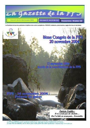 Gazette n°28
