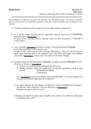 PERSEPOLIS SEANCE 13 Fiche Elève Influences ... - Bulle en tête