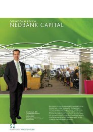 NEDBANK CAPITAl - Nedbank Group Limited