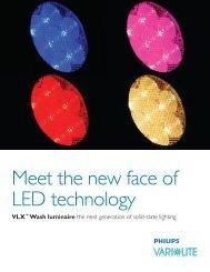 VLX Wash Luminaire Product Brochure - Vari-Lite