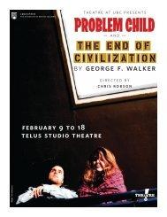 February 9 to 18 Telus Studio Theatre - Theatre at UBC - University ...