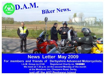 May 09 - Derbyshire Advanced Motorcyclists