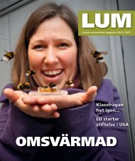 LUM nr 2, 2011 - Humanekologi Lunds universitet