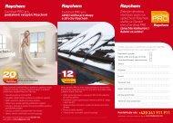 Page 1 Školicí seminář Certified PRO pro podlahové vytápění je ...