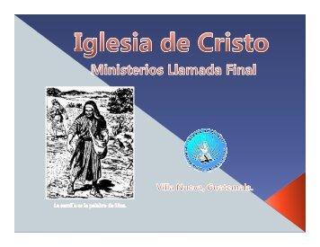 El discipulo y su preparacion.pdf - IGLESIA DE CRISTO - Ministerios ...